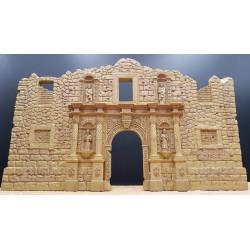 Décor-diorama, Ruines et façade d'une chapelle