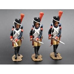NA059, Grenadiers à pied garde impériale Française en progression 1804-1815