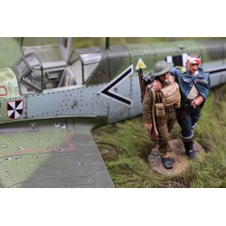 Messerschmitt BF109, Lieutenant von WERRA, abattu, 1940