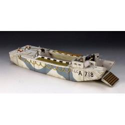 Barge de débarquement LCA Britannique, 06 juin 1944, Normandie