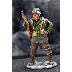Policier militaire Américain, Ardennes-Bastogne 1944