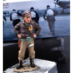 Pilote de chasse Américain, lieutenant Dick RABB - Normandie, 1944