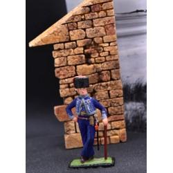 Officier de la garde imperiale tenue de ville 1804-1815