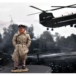 Pilote de chasse Américain, USAAF, capitaine Brett CUTLER WW2