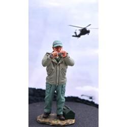 Mécanicien d'aviation Américain, guerre du Pacifique, USMC, 1941-1945