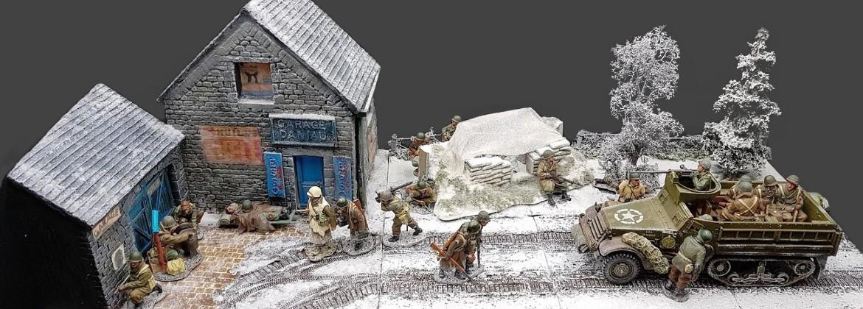 King Country JG Patridge Saint Vith Ardennes 1944