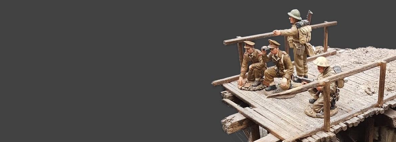 Pont, décors et dioramas